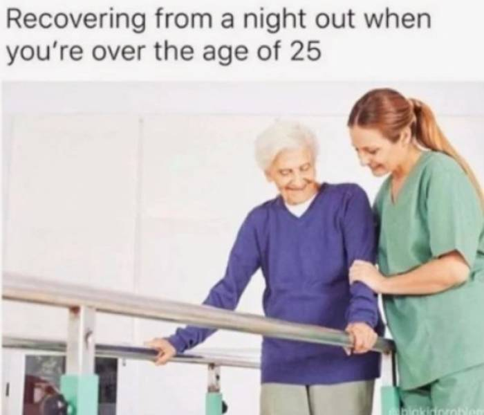 Memes For People Over 40 Are Just Tired