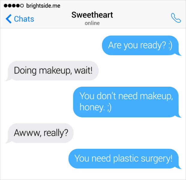 These Texts Didn't Go As Expected…