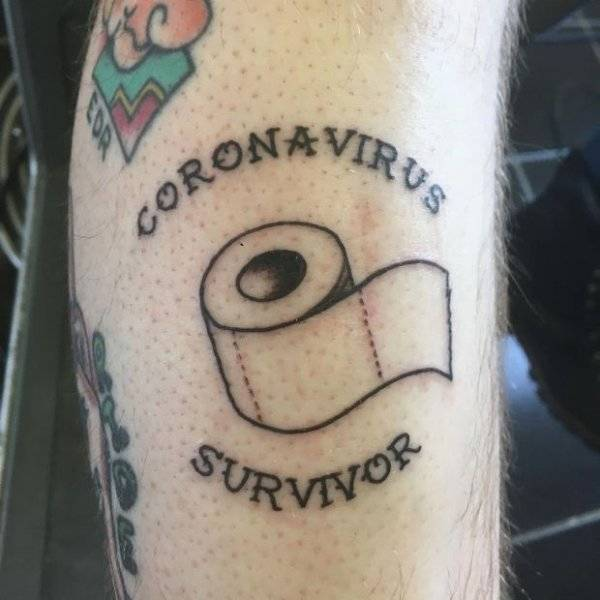 You Aren't Seeing Stuff, Coronavirus Tattoos Are A Thing Now…