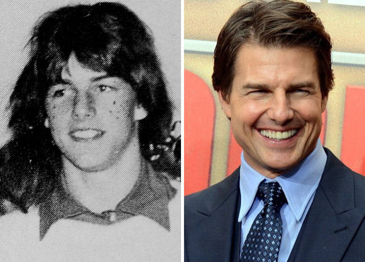 Hollywood Heartthrobs Who Weren't That Handsome Back In The School Days