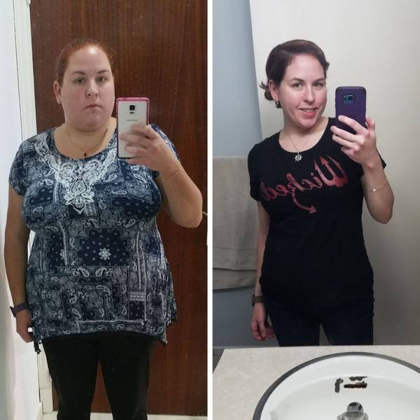 People Who Started A New Life Without Extra Weight