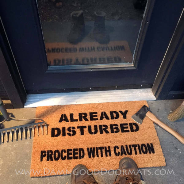 These Doormats Are Perfect For Social Distancing!