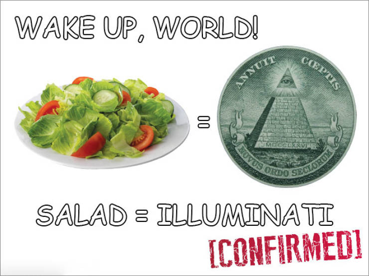 Wake Up, Salad Is Not Healthy!!!