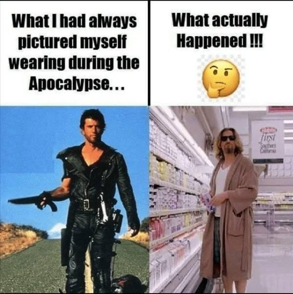 So This Is How Apocalypse Looks…