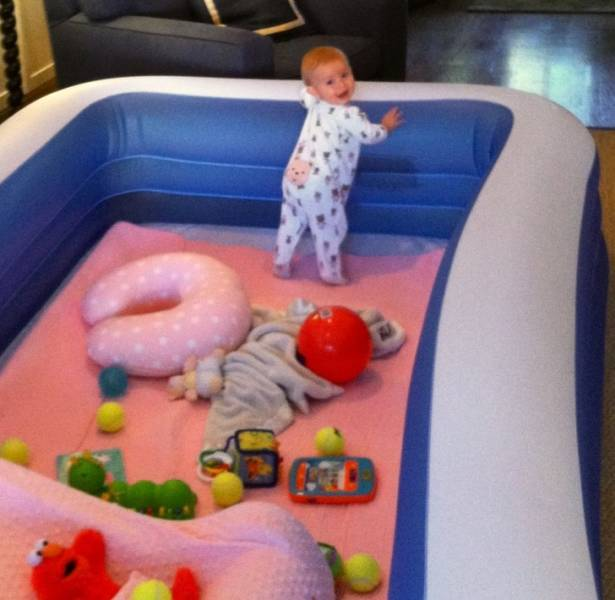 Parents Who Definitely Know How To Keep Their Kids Entertained Without Too Much Effort