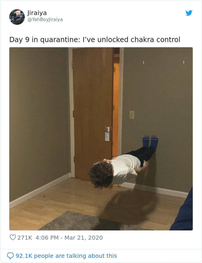 People Do All Sorts Of Things To Cope With Quarantine