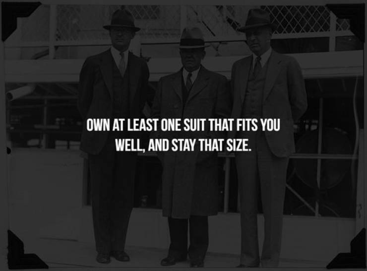 The Unwritten Rules Of Being A Solid Man