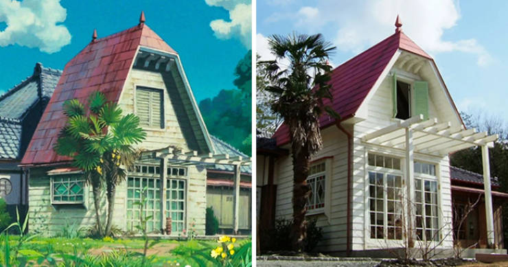 """This House Is An Almost Perfect Replica Of """"My Neighbor Totoro"""" House"""