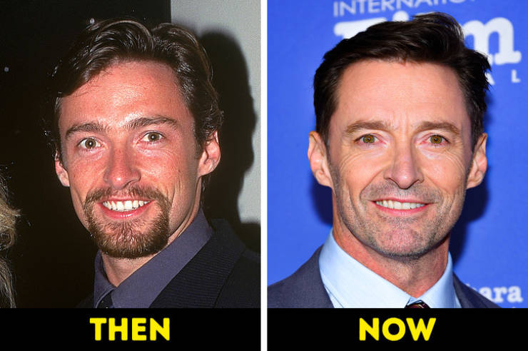 How Celebs Change With Age