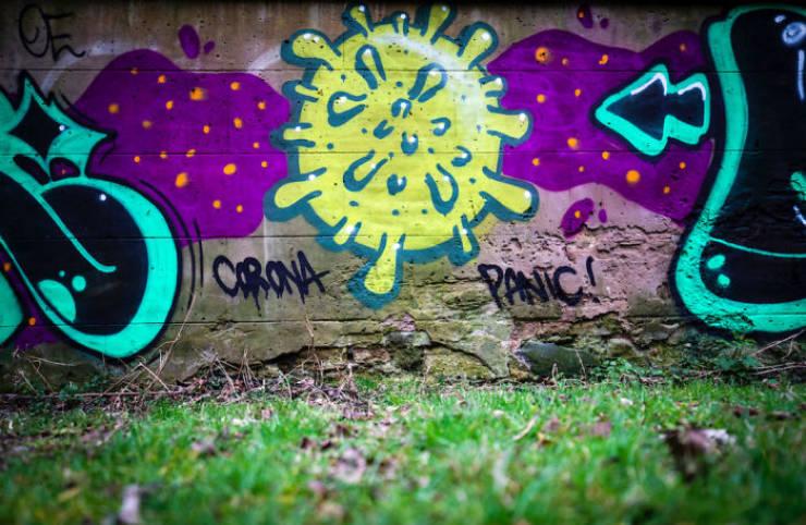Street Art Gets Real About Coronavirus