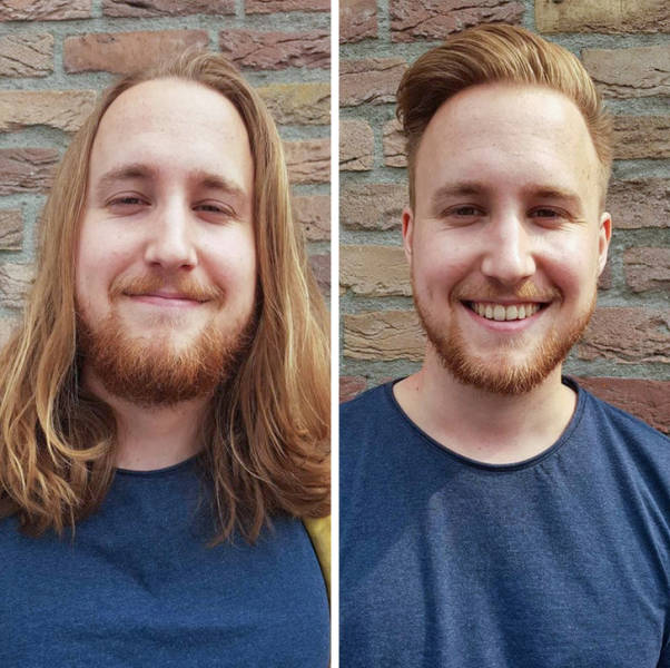 Visit To A Barber Was Definitely A Right Decision For Them!