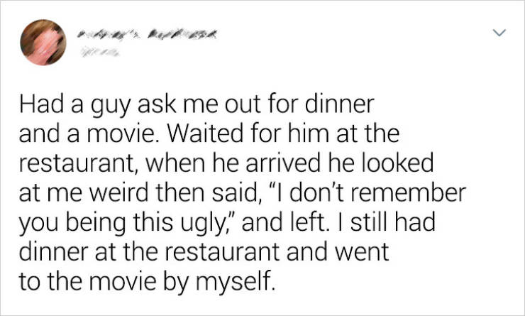 Dates Shouldn't Be Like This…