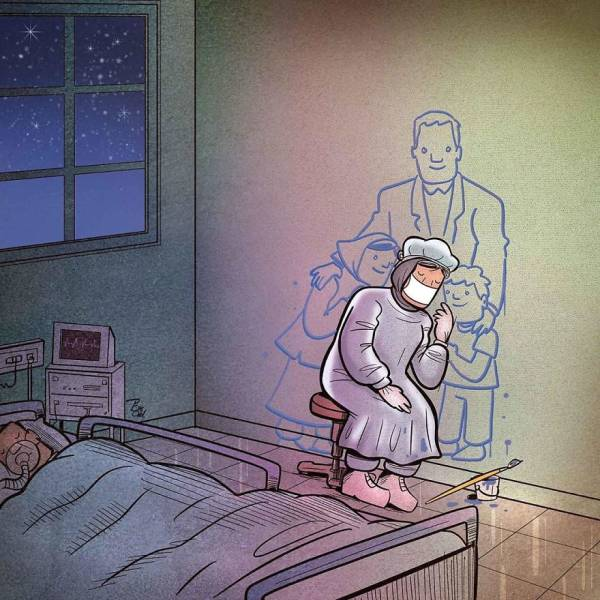 Iranian Artist Shows How Important Doctors Really Are, Especially In These Trying Times