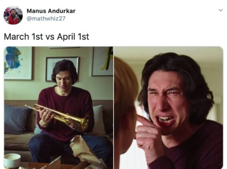 These March Vs. April Memes Hit Really Hard