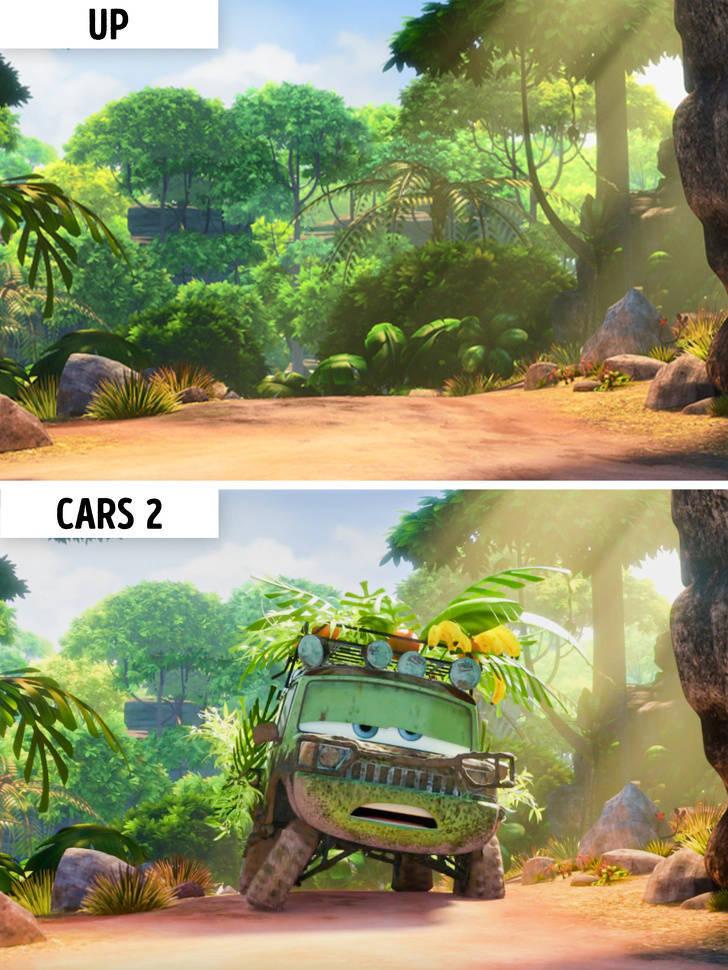 These Cartoon Scenes Look Suspiciously Similar…
