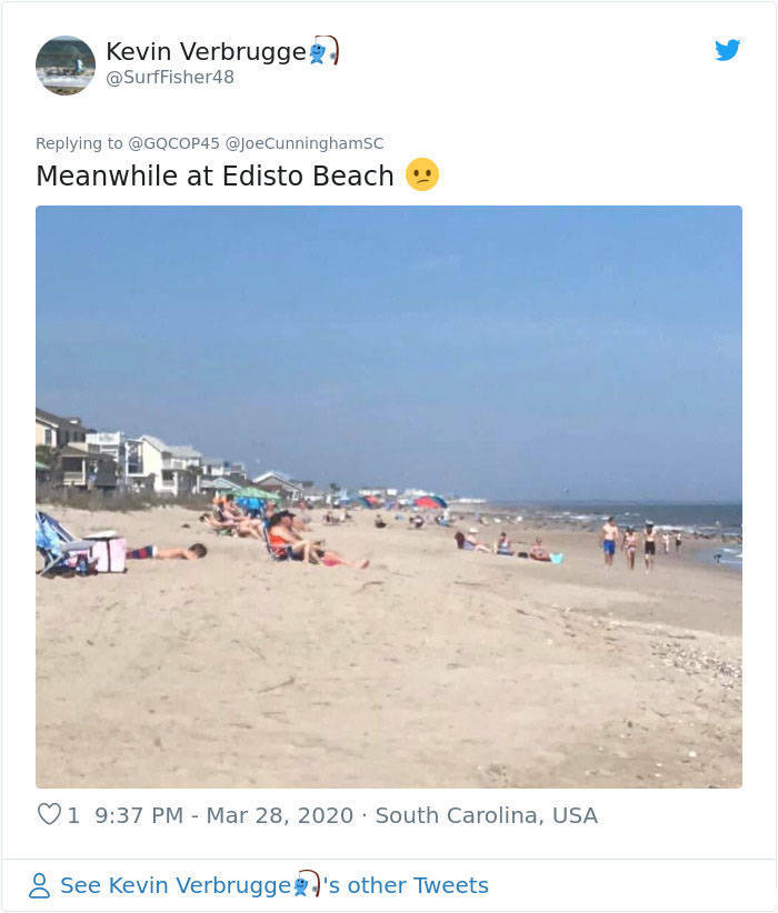 South Carolina Just Doesn't Care About Social Distancing…