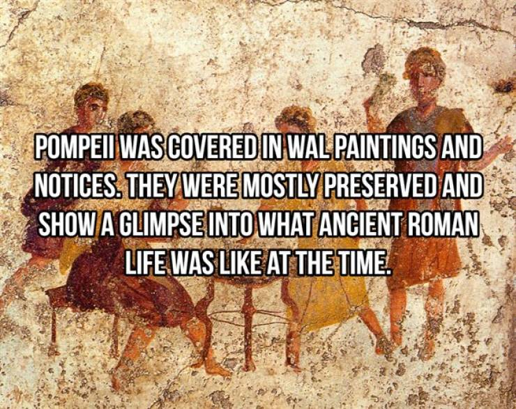 These Pompeii Facts Are Frozen In Time