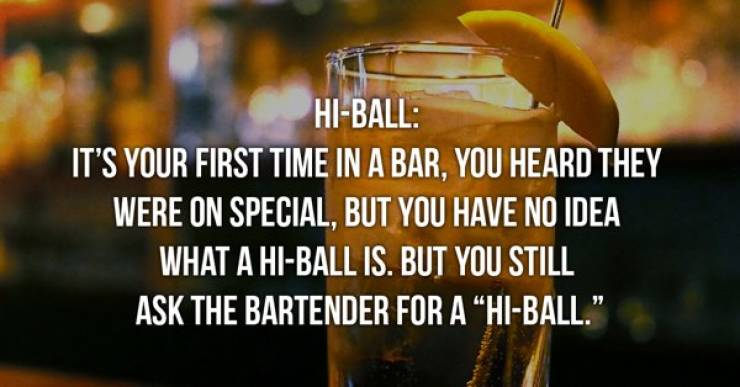 Your Bar Order Could Say Some Things About You