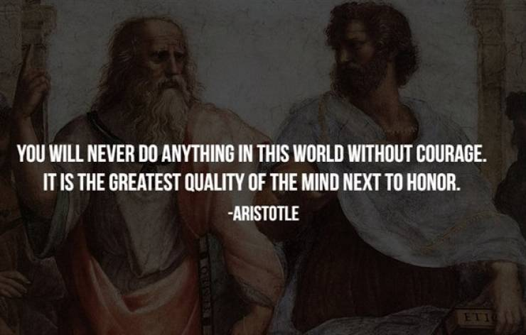 Ancient Philosophers Were Pretty Wise…