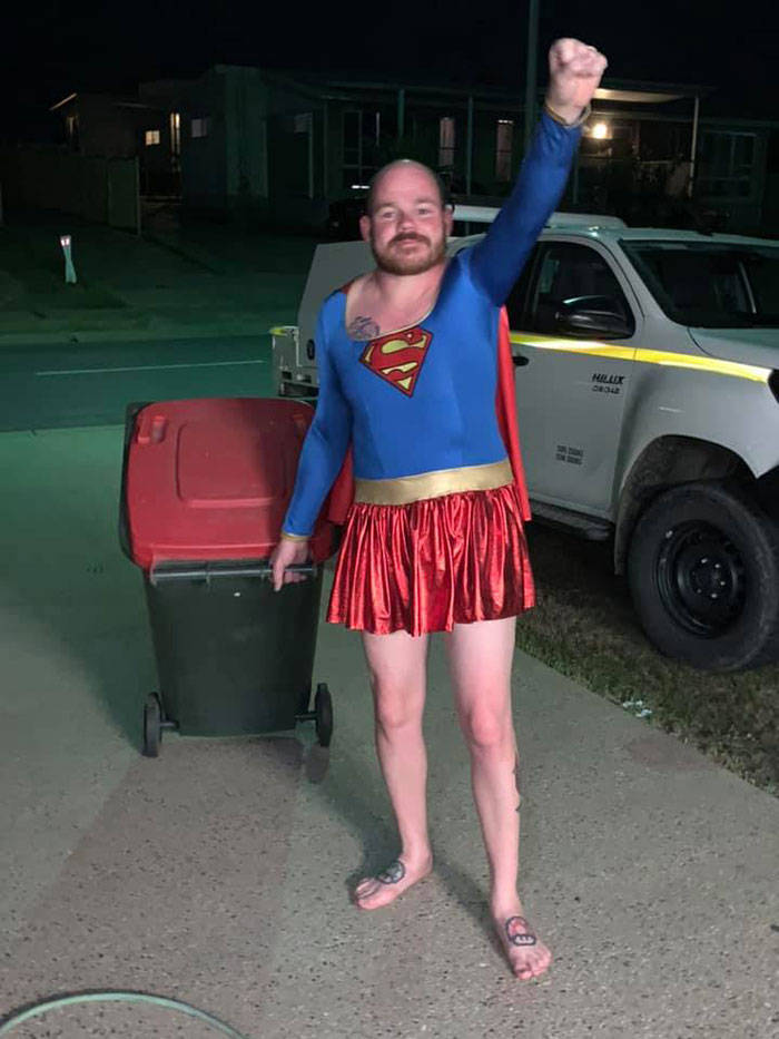 Australians Take Bins Out And Use It As An Excuse To Wear Their Best Clothes