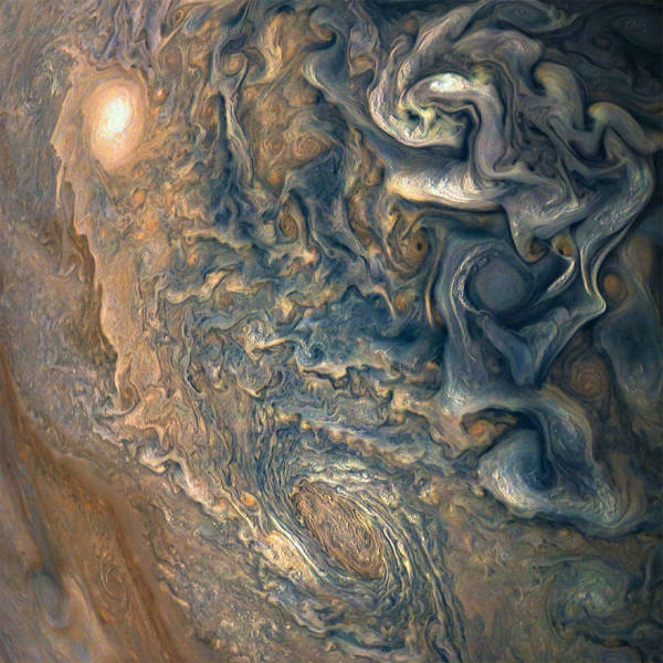 NASA Shows Jupiter Photos Made By Juno Spacecraft