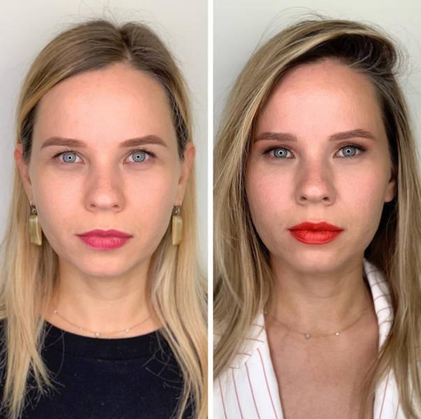 Amateur Makeup Vs. Professional Makeup