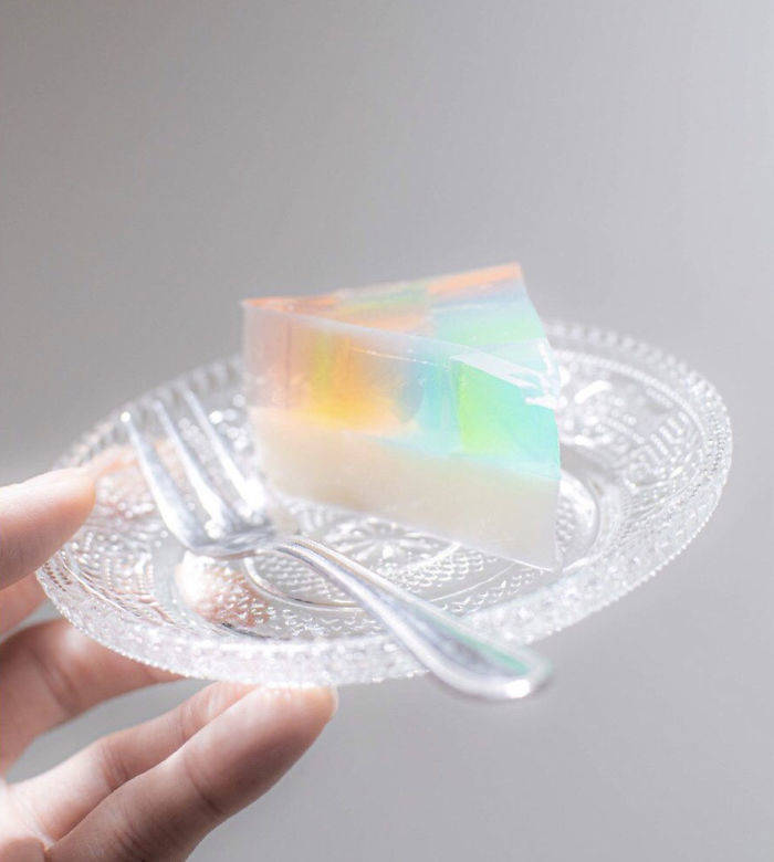 You Can Easily Make This Japanese Jelly Cake At Home!