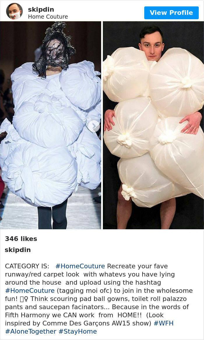 High Fashion Is Now Home Fashion!
