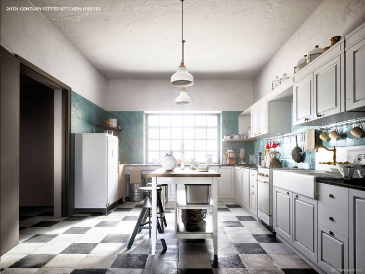 How Kitchens Changed Between 1520 And Now