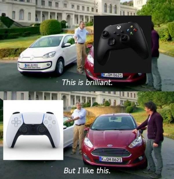 PlayStation 5 Controller Memes Look Kinda Familiar…