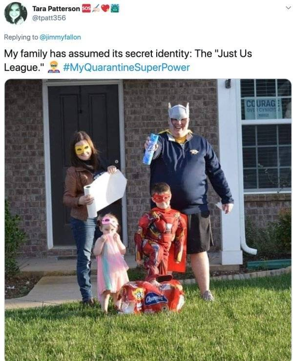 Quarantine Makes People Develop Superpowers…