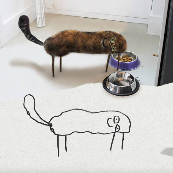 """Dad Turns His Son's Doodles Into Real Life """"Beauties"""""""