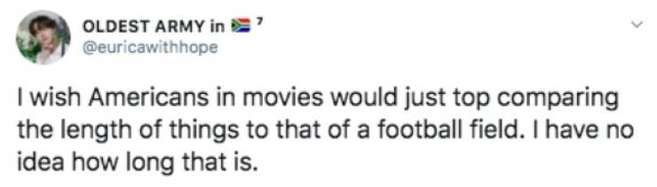 Non-Americans Can't Understand Lots Of American Movie Stuff