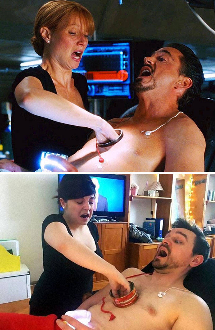 Couple Nails Famous Movie Scene Recreations While In Quarantine