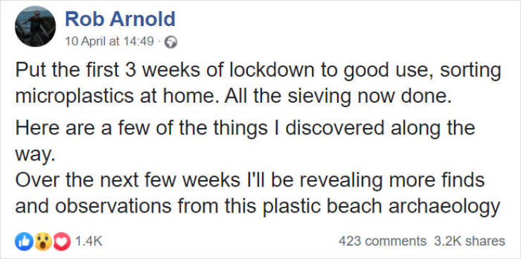 Man Sorts Out 250 Kg Of Plastic He Removed From A Beach. In His Backyard!