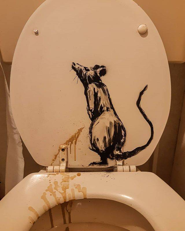 Banksy's Wife Is Not Enjoying Him Working From Home…