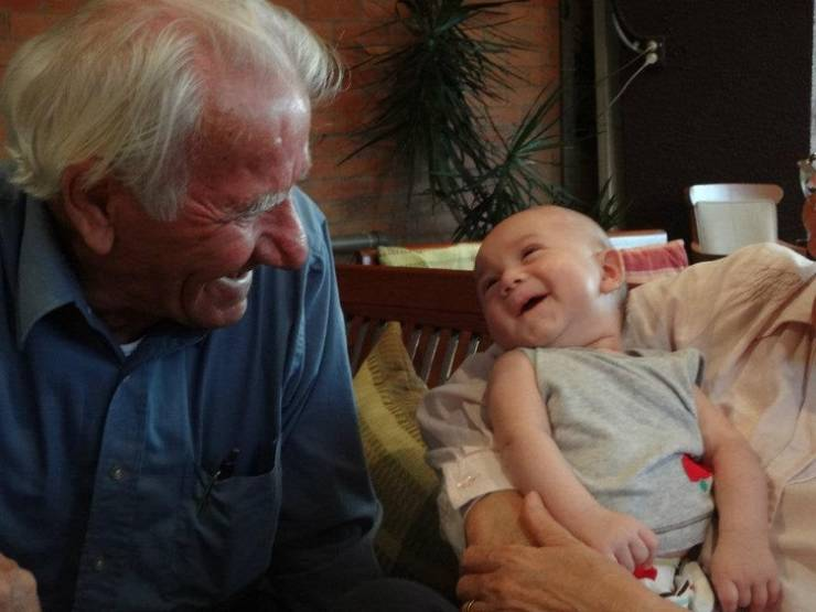 Grandparents And Grandkids Love Each Other So Much!