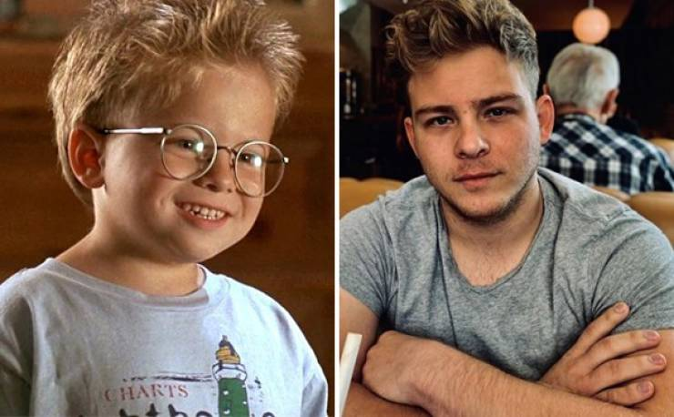 Kids From Classic '80s & '90s Movies And Shows Then And Now