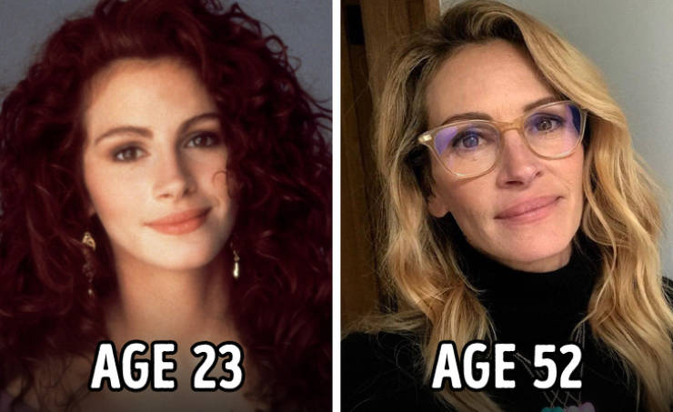 Age Has Radically Changed These Celebs