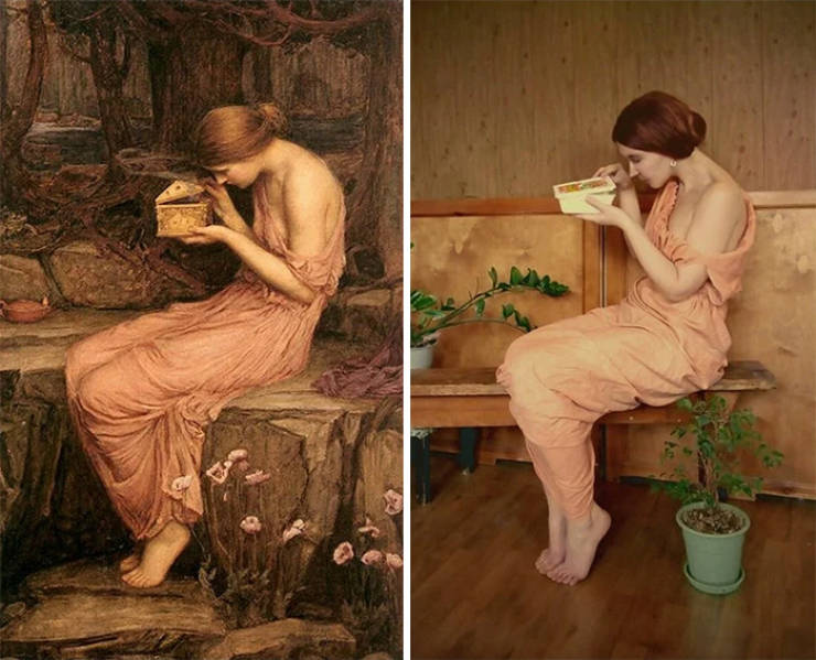 """This Russian Facebook Group Specializes In """"Isolation Art"""""""