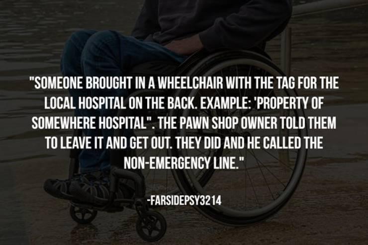 Pawn Shops Have Seen Their Fair Share Of Illegal Stuff…