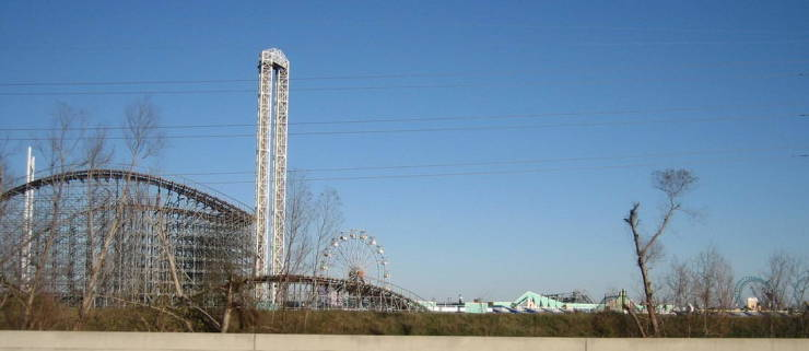 Inside A Theme Park That Was Destroyed By Hurricane Katrina