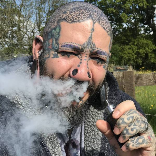 British Man Spends Over $12 Thousand On Body Modifications Trying To Cope With Divorce