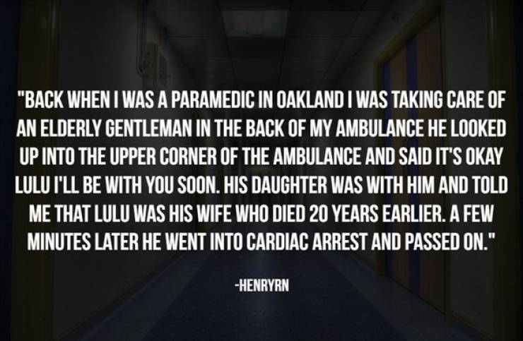Hospital Workers Have Seen Some Paranormal Stuff…