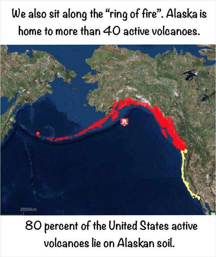 Artist Compiles Curious Facts About Alaska