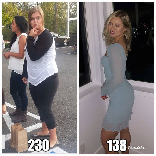 People Who Managed To Lose A LOT Of Weight