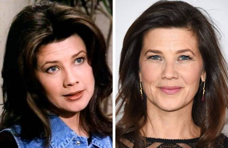 """Cast Of """"Melrose Place"""" Back When The Show Started And Now"""