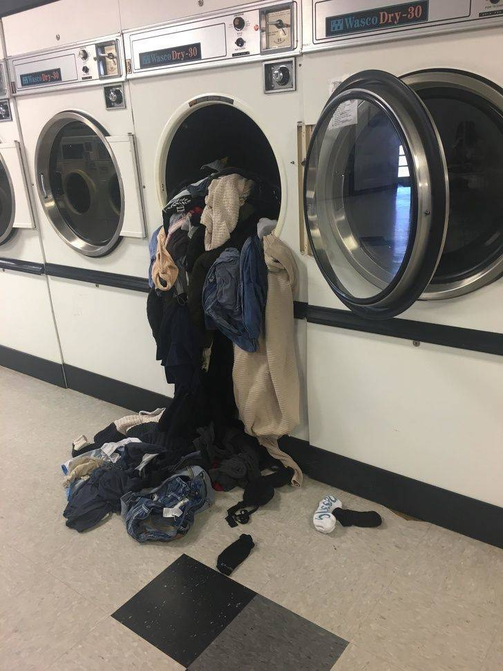 Laundry Can Be Quite A Challenge