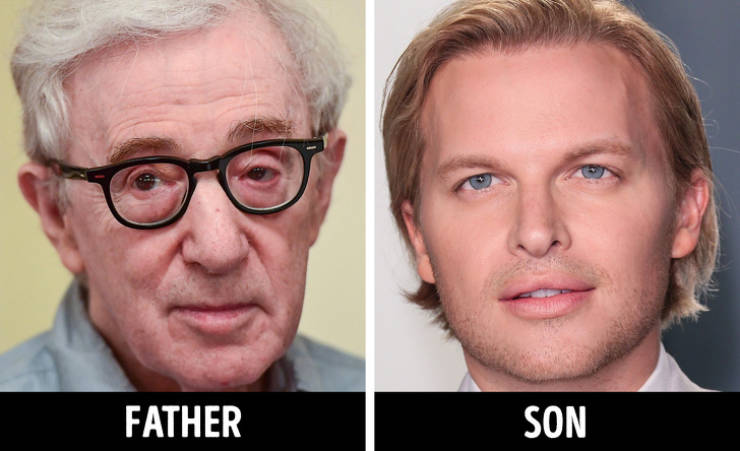 Celebrity Children Compared To Their Famous Parents