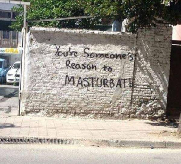 Graffiti That Could Make Your Day Just A Tad Better
